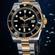Rolex-Submariner-en-acier-inoxydable-en-or-jaune6