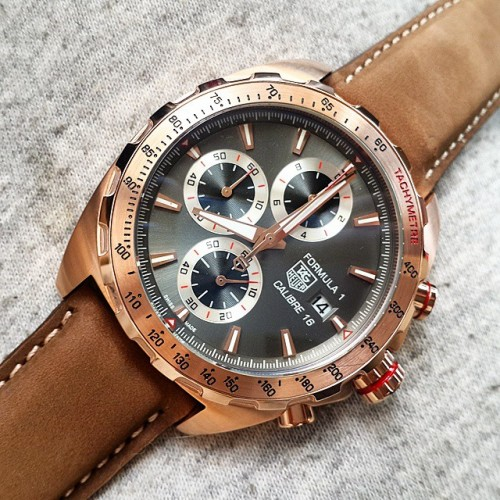 3161101641456831800TAG HEUER CALIBRE 16 FORMULA 1 ROSE GOLD
