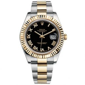 Rolex-Watches-Datejust-II-41mm-Steel-and-Gold-Yellow-Gold-Fluted-Bezel1