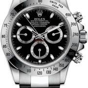 Rolex, Daytona, Cosmograph Daytona 40mm Steel, 116520-Black, LuxWatch.ua