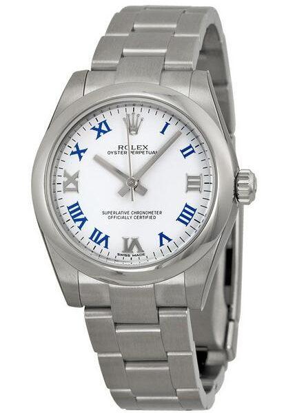 Fausses-Montres-Rolex-Oyster-Perpetual-31-Avec-Cadrans-Blancs